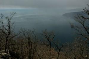 Widok na Morze Czarne z Ajudahu skały