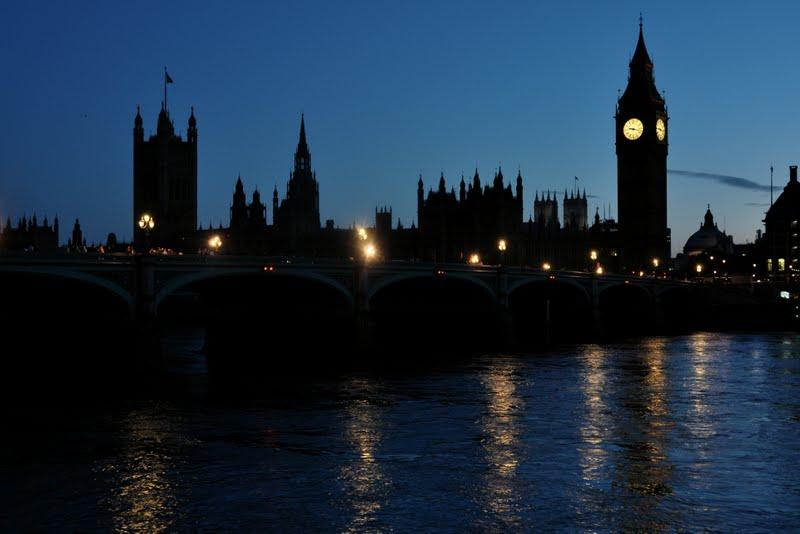 Westminster Palace tuz przed filmem