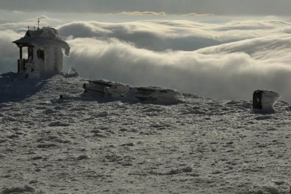 Morze chmur wokół Popa Iwana