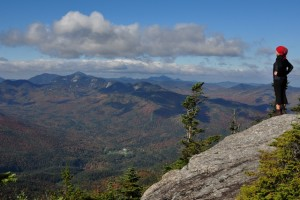 Widok na Adirondack Mountain