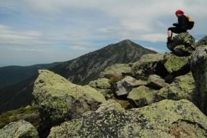 Na szczycie Mt. Flume (1319 m n.p.m.)