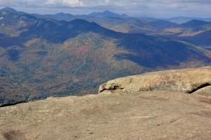 Widok ze szczytu Mt. Giant
