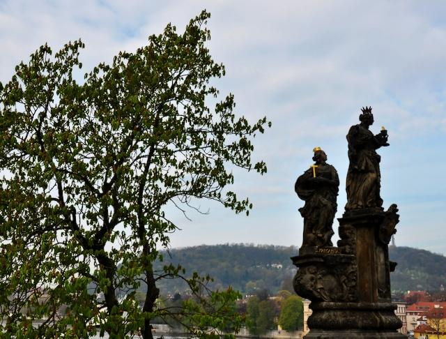 Figura św. Małgorzaty na Moście Karola